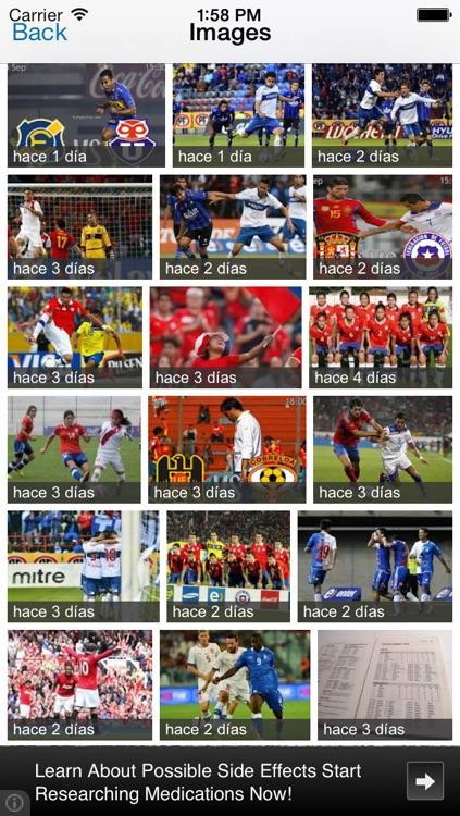Futbol Chile : Primera A, libertadores screenshot-4