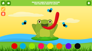 Doodle Fun Bugs Free - Preschool Coloring and Drawing Game