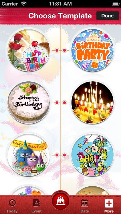 Birthday Reminder* screenshot-4