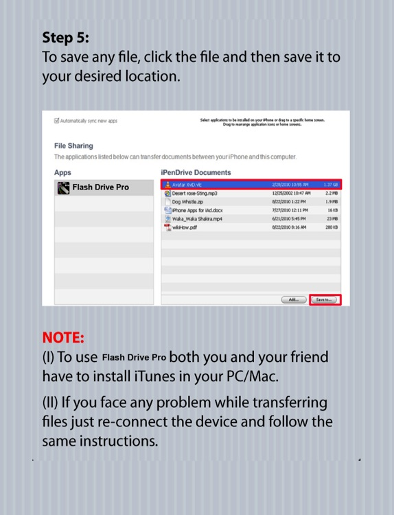USB Flash Drive for iPad screenshot-3