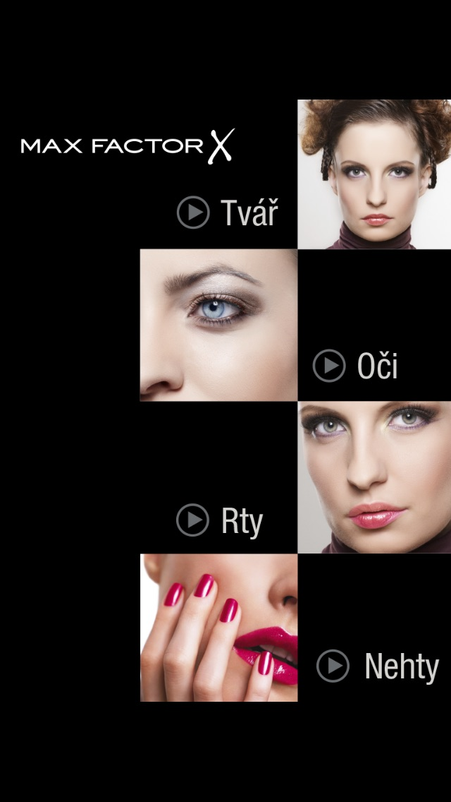Katalog Max Factor Screenshot