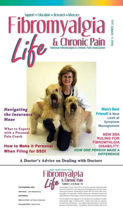 Fibromyalgia & Chronic Pain LIFE Magazine