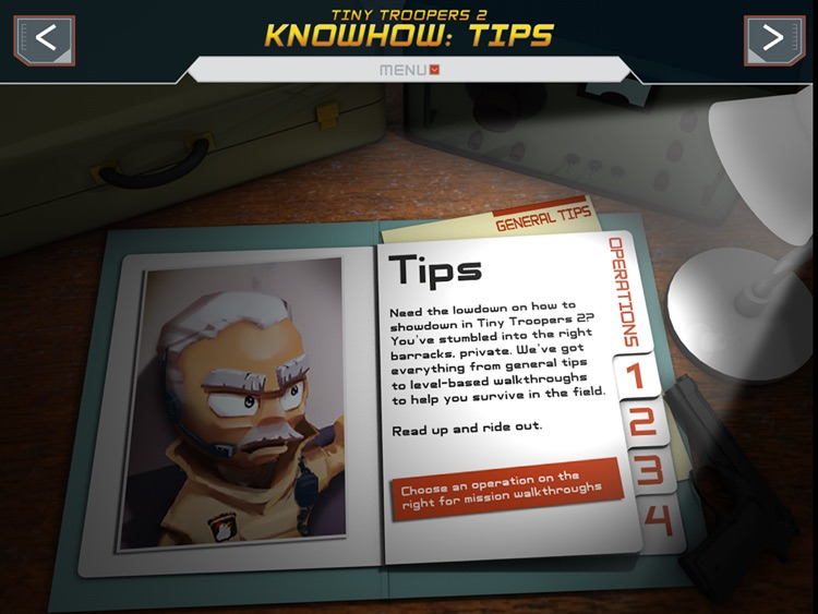The Official Guide to Tiny Troopers 2 – iPad edition screenshot-3