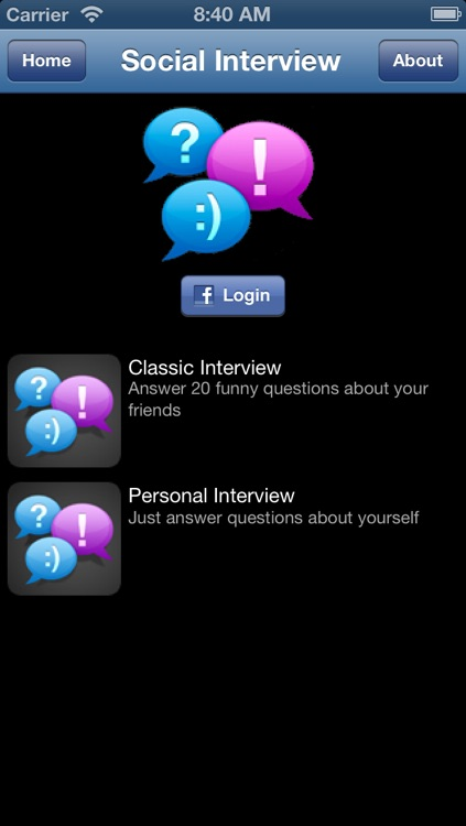 Social Interview