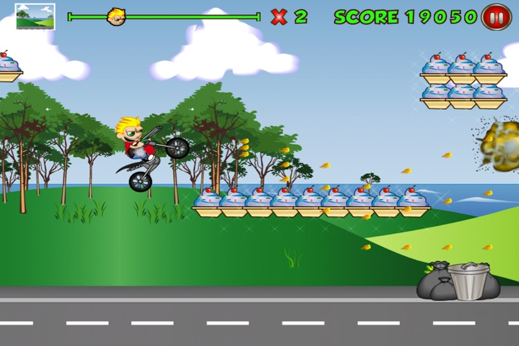 Extreme Kid Race Lite screenshot-3