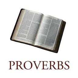 Daily Bible Proverbs (KJV,NIV,ASV)