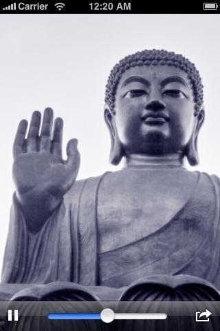Buddhist Noble Eightfold Path Meditation with Prosperity Visualizer