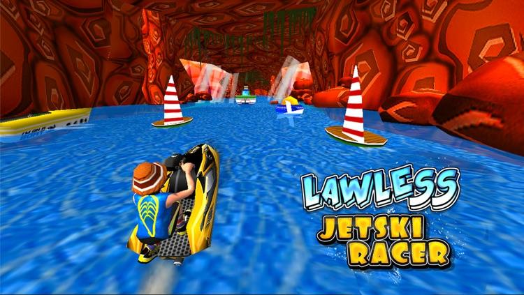 Lawless Jetski Racer (3d Stunt Race Games)