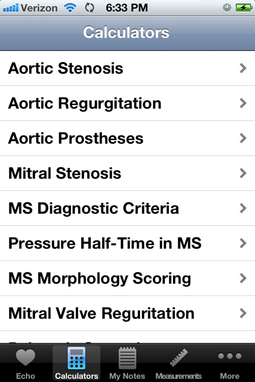 Echocardiography Pocket Reference by iSonographer screenshot-4