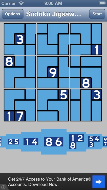Sudoku Jigsaw Daily free puzzle game screenshot-0