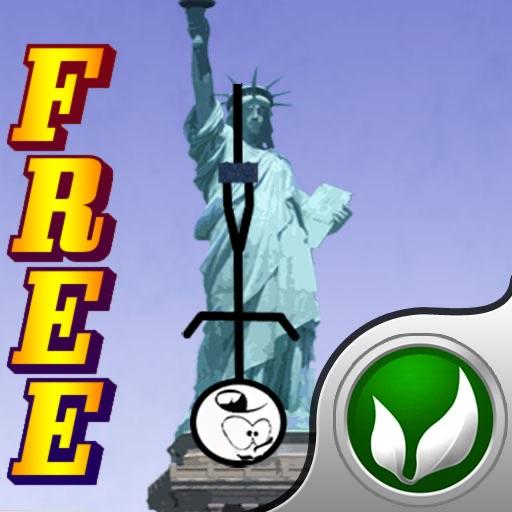 Bungee Stickmen - USA Landmarks {FREE}