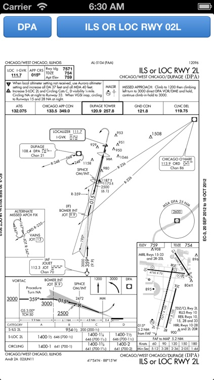 Approach Charts screenshot-0