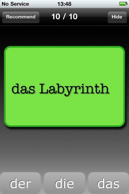 Der Die Das - Trainer screenshot-3