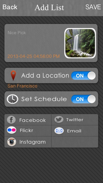 Schedule Social Posting - Help U to engage with social media screenshot-3