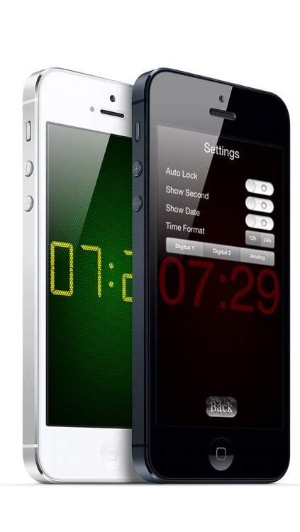 ScreenClockHD screenshot-1