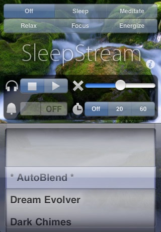 SleepStream Classic - Advanced Sleep Inducer & Energizer