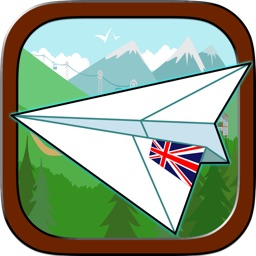 Paper Airplane Glider - Cluster Buster Free