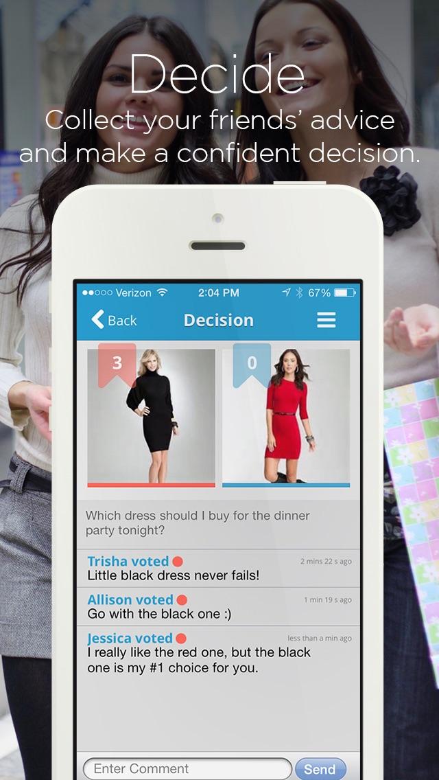 ThisThat Decision Making App screenshot