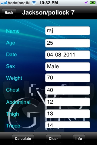 Find Bodyfat % -  Professional Calculator