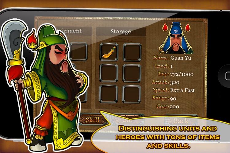 Three Kingdoms TD - Legend of Shu screenshot-3