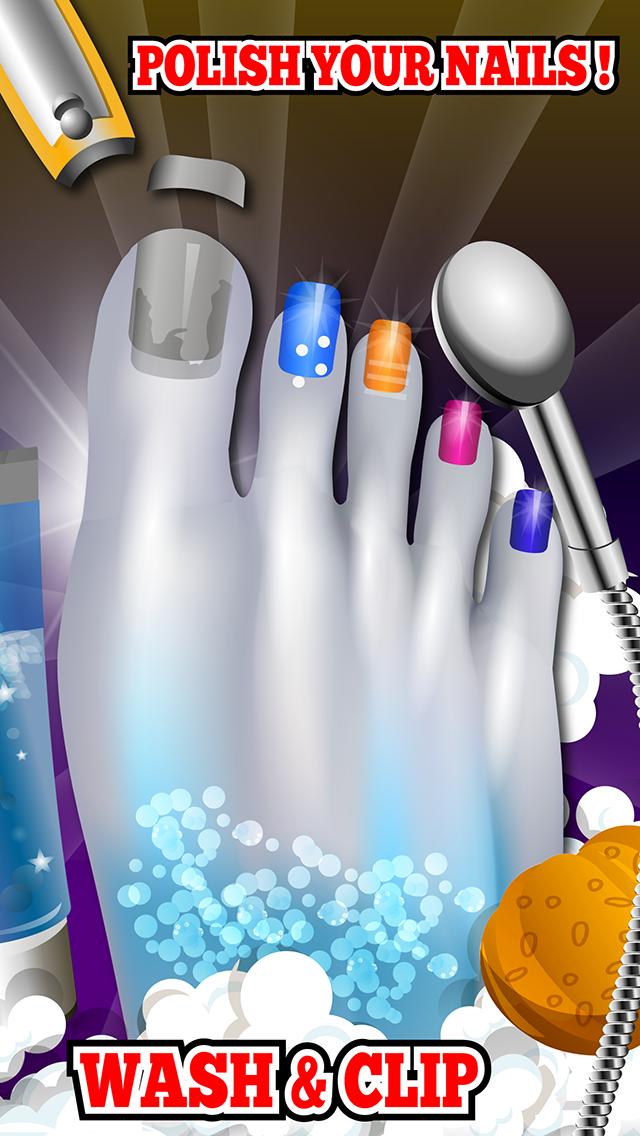 """セレブフットスパ - """"楽しい無料キッズゲーム」とは、モンスターネイルデザインのおすすめ画像2"""