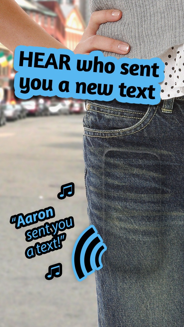 Who Texted Me? (Free) - Hear the name who just sent that