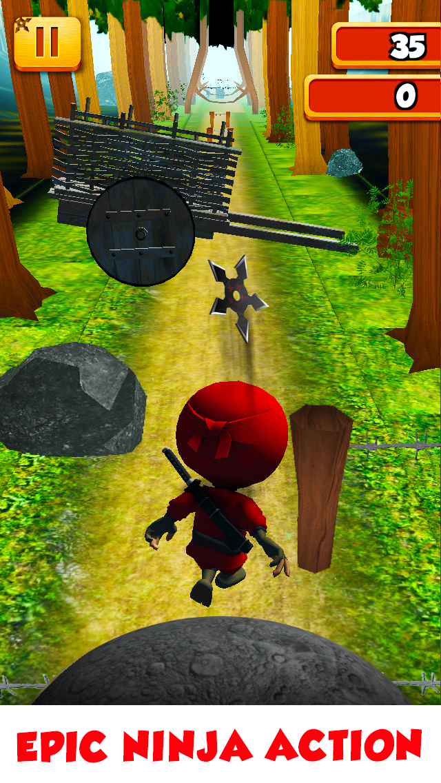 3D Tiny Ninja Fun Run Free - Mega Kids Jump Race To The Aztec Temple Gamesのおすすめ画像2