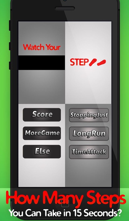 Watch your Step - Don't Tap Touch or Miss!