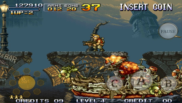 METAL SLUG 1 screenshot-1