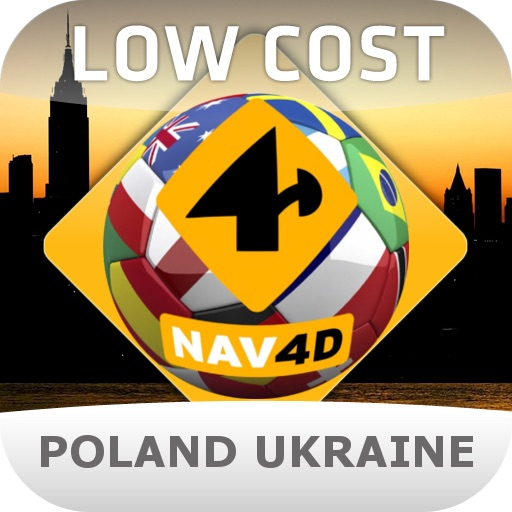 Nav4D Poland/Ukraine 2012 - LOW COST icon