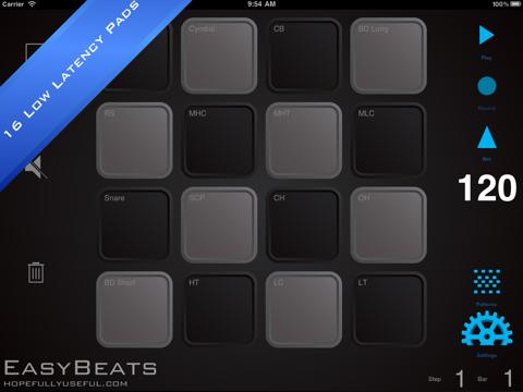 EasyBeats 2 Pro Drum Machine - Beat or Program Drums!-ipad-0