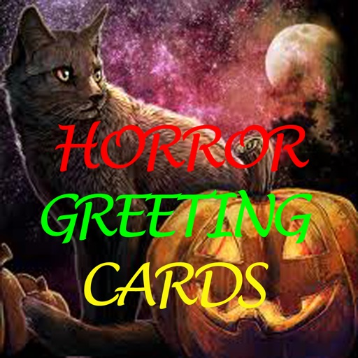 Happy Halloween Cards.Horror Greeting Cards.Ghost Card.Send Halloween Greeting Cards to your friends icon