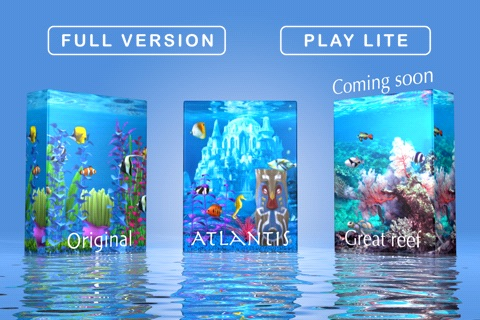 Colorful Aquarium Lite screenshot-1