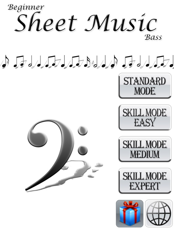 Beginner Reading Music: Bass iPad Edition