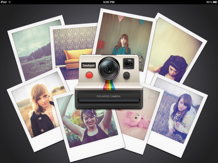 Instant: The Polaroid Instant Photos for iPad screenshot-0