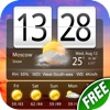 Free Live Weather Clock Pro - iPhoneアプリ