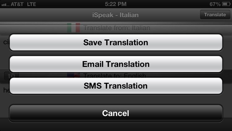 iSpeak Italian screenshot-2