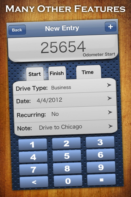 Mile Log – Mileage Tracker - for iPhone screenshot-4