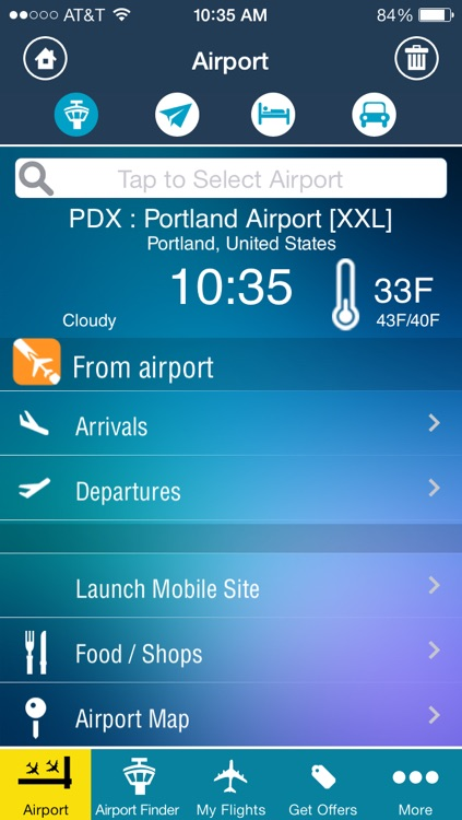 Portland Airport PDX + Flight Tracker Premium Alaska screenshot-1