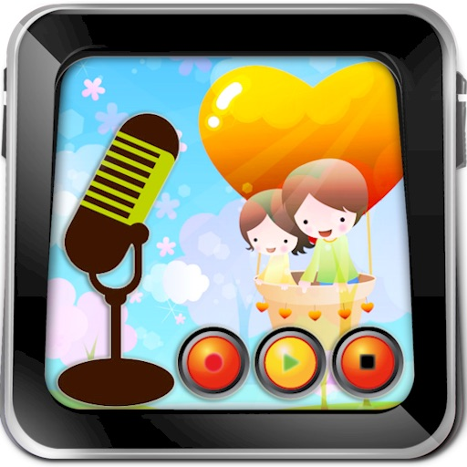 Kid's Voice Recorder HD Lite icon