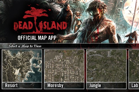 Official Dead Island Map App screenshot-0
