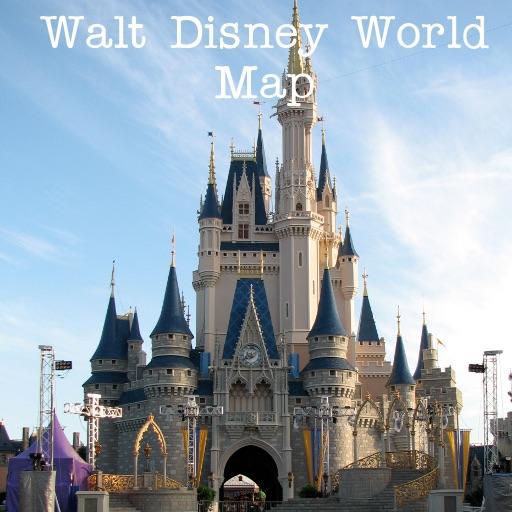 Walt Disney Word Offline Map