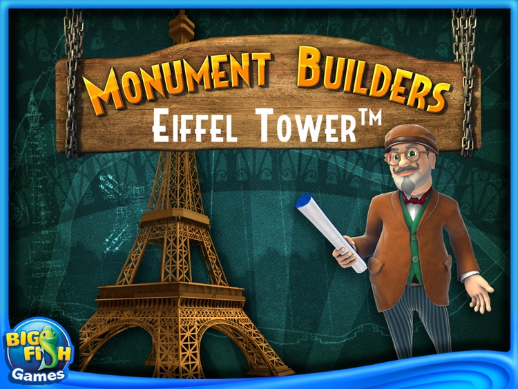 Monument Builders: Eiffel Tower HD screenshot-0