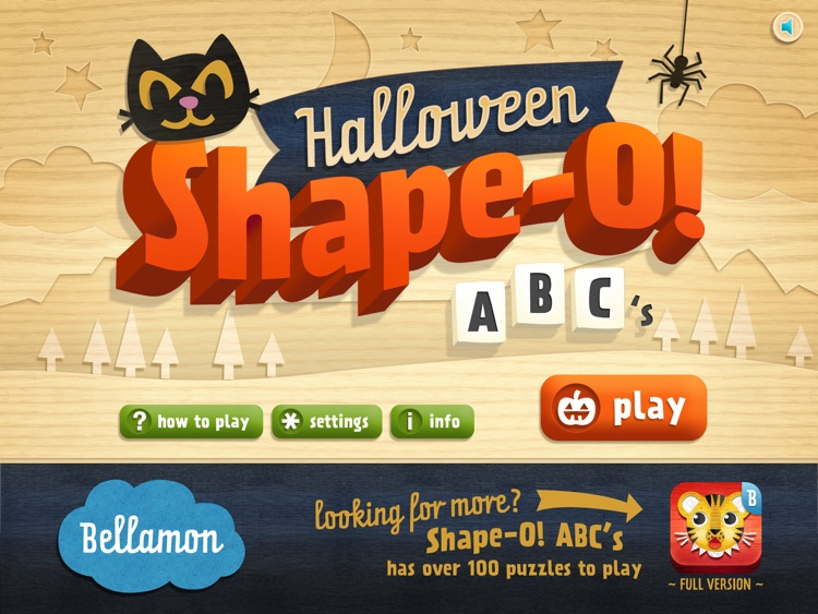 Halloween Shape-O! ABC's screenshot-0