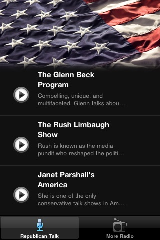 Republican News Radio FM - News From the Right screenshot-2
