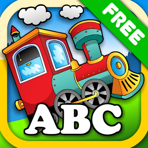 Animal Train - First Word FREE icon