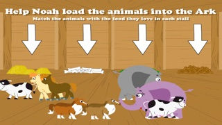 Noah's Ark Bible Story with Built-in Games - Fun and Interactive in HD iPhone