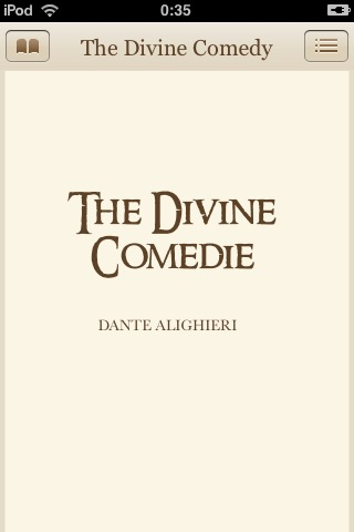 The Divine Comedy by Dante Alighieri (ebook)
