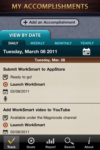 WorkSmart Lite - Manage your career, job accomplishments, and business goalsのスクリーンショット1