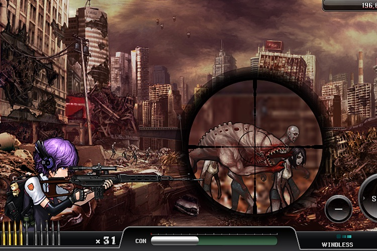 Ghost Sniper : Zombie screenshot-4